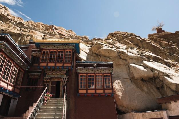 Inde, bâtiment rocheux, colline, bâtiment