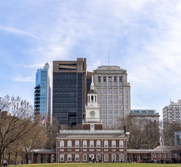 Independence hall philadelphie pa états-unis.