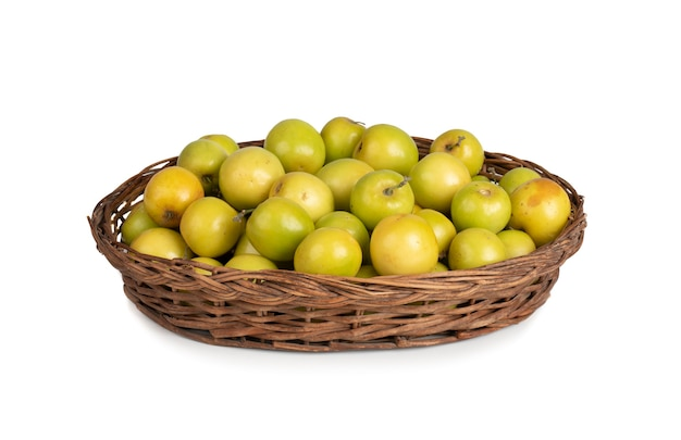 Indian fresh jujube également connu sous le nom de jujube