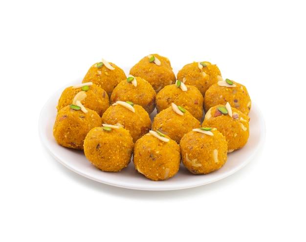 Indien traditionnel d'hiver sweet food methi laddu