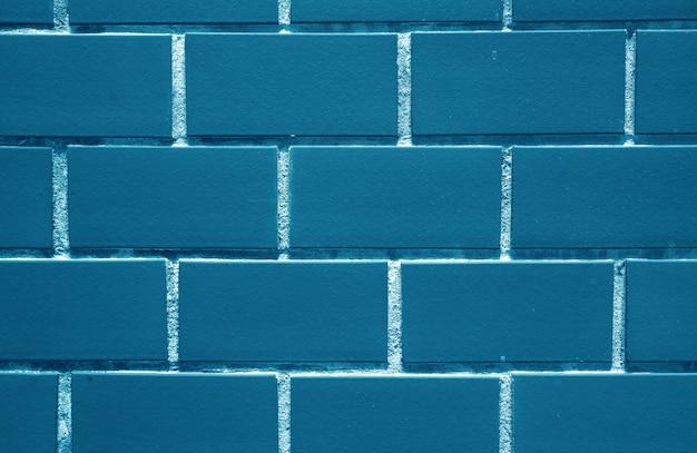 Indigo, mur de briques colorées bleu marine, pour le fond