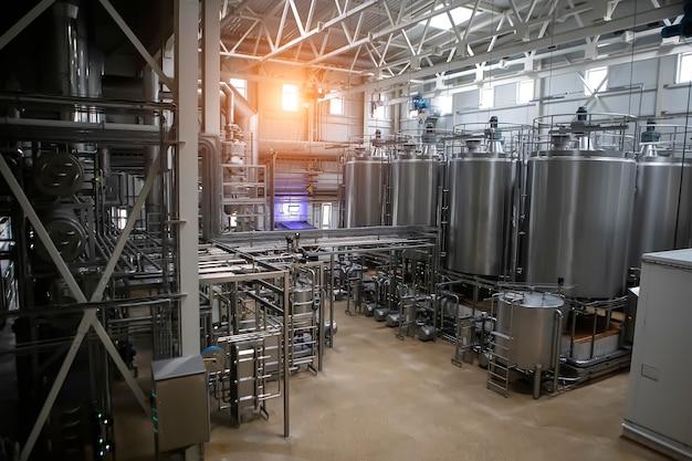 Industrie alimentaire, transformation du lactosérum en lait en poudre