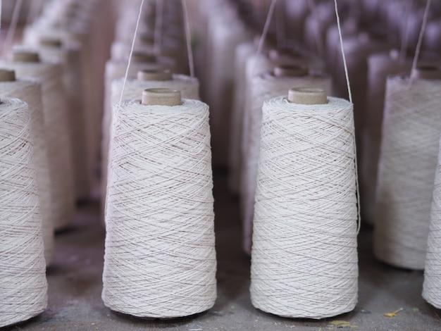 Industrie des fils textiles