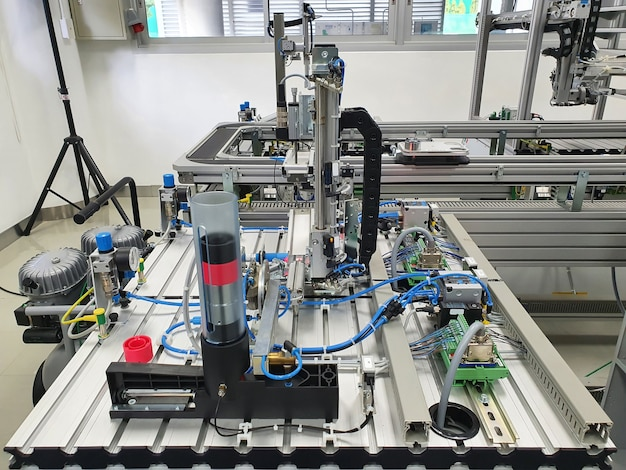 Industrie manufacturière automatisation des bandes de production en usine
