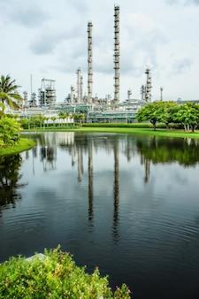 Industrie pétrolière et gazière de raffinerie
