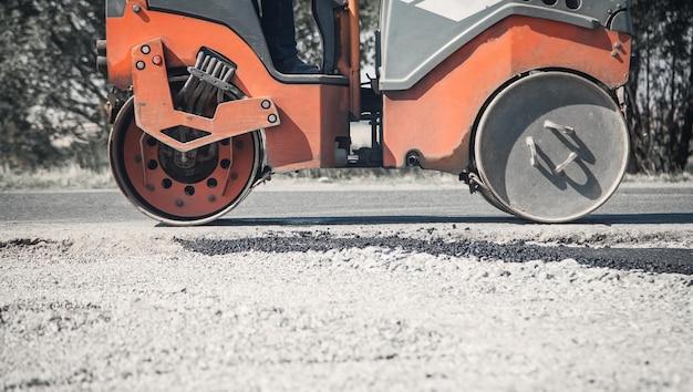 Industrie des rouleaux d'asphalte