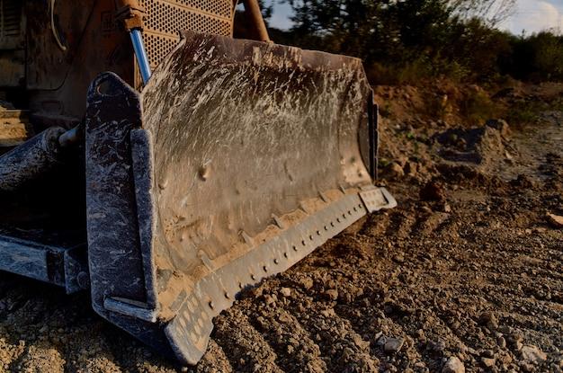 Industrie des travaux de nivellement et de construction d'excavatrices