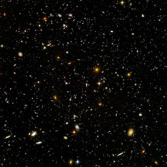 Infinies galaxies de l'univers infini espace