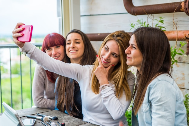 Influenceurs vlogging à domicile