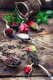 Infusion de thé parfumée