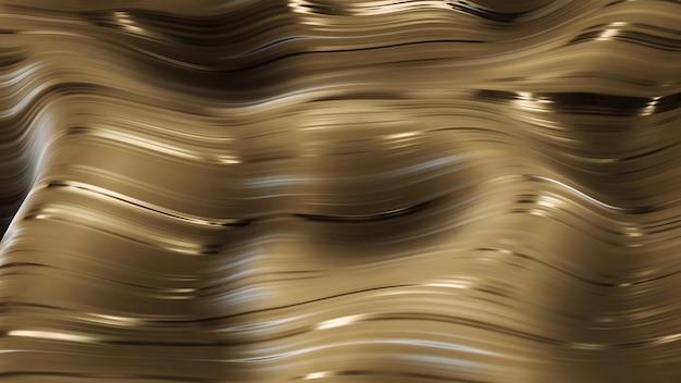 Ing golden glamour caramel abstrait