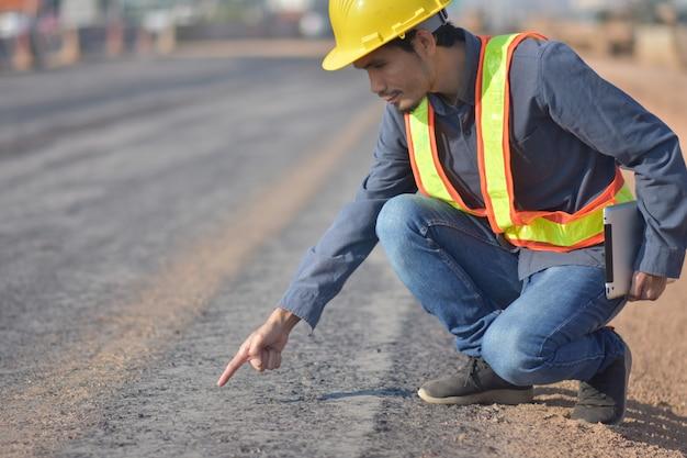 Ingénieur checkin road