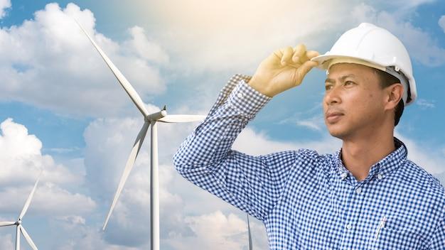Ingénieur technicien en centrale de production d'énergie éolienne