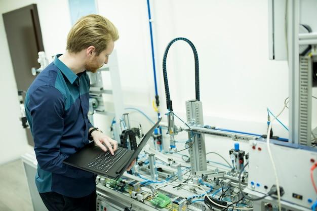 Ingénieur en usine