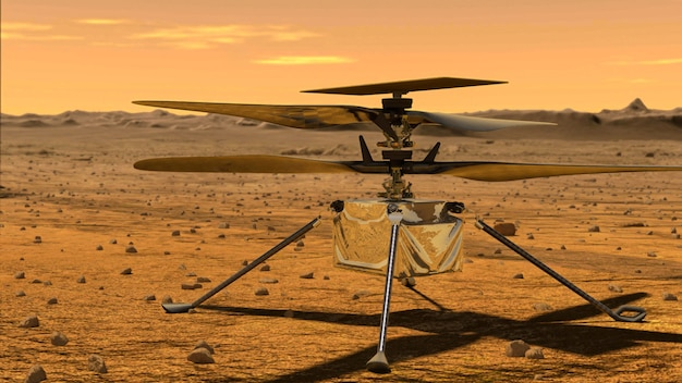 Ingenuity mars helicopter scout