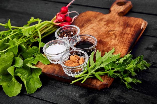Ingrédient pour la salade