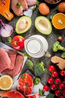Ingrédients alimentaires biologiques