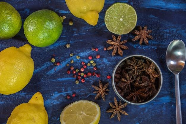 Ingrédients du cocktail
