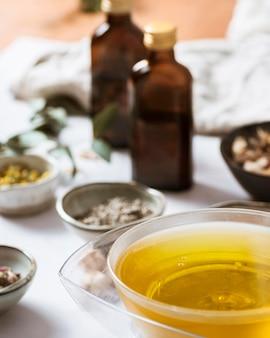 Ingrédients du savon à angle élevé
