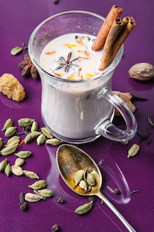 Ingrédients du thé masala