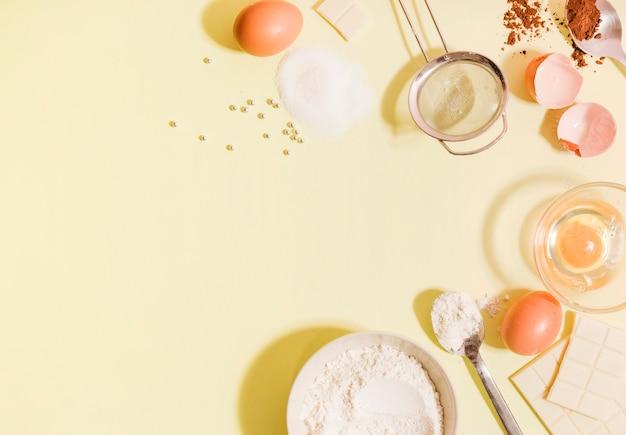 Ingrédients de gâteau