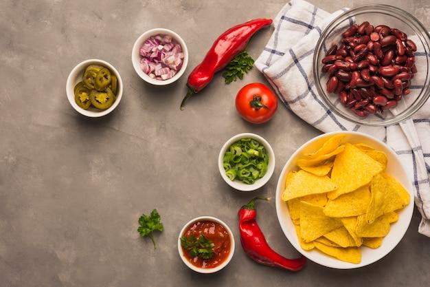 Ingrédients mexicains