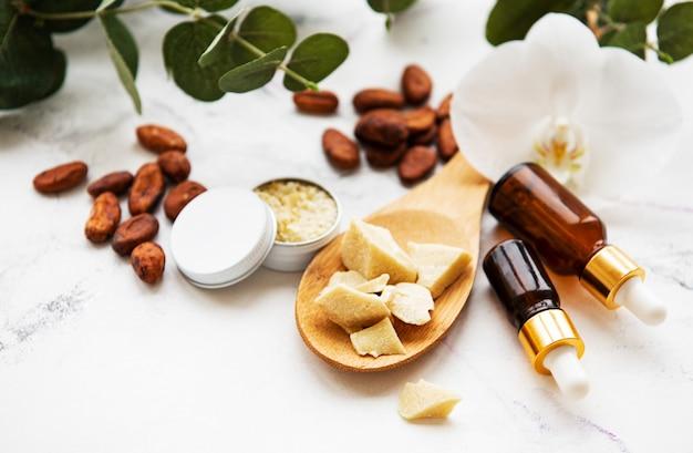 Ingrédients naturels du spa