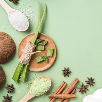 Ingrédients naturels pour les cosmétiques