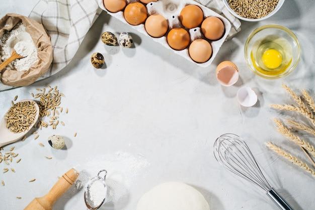 Ingrédients naturels pour la cuisson