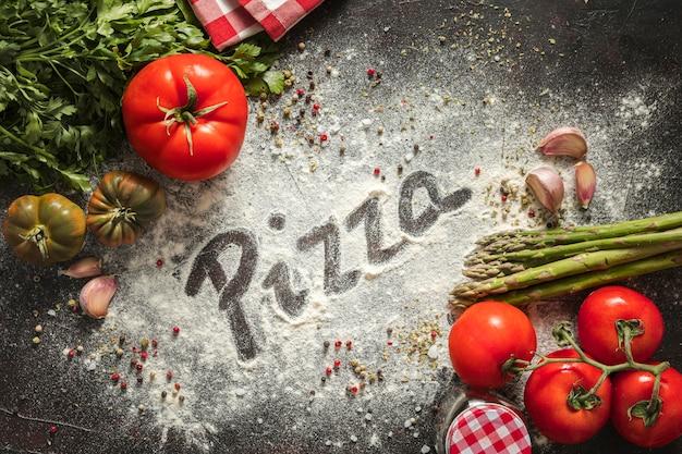 Ingrédients de la pizza