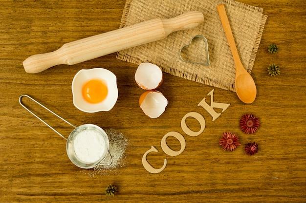 Ingrédients pour cuisiner