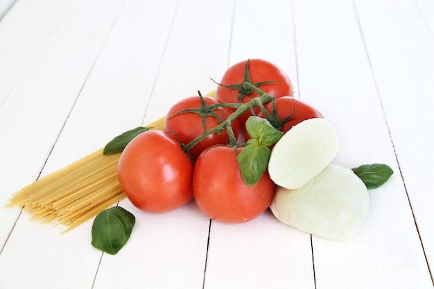 Ingrédients pour la cuisson des pâtes