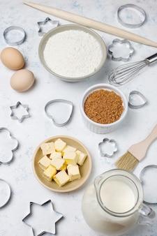 Ingrédients pour la cuisson