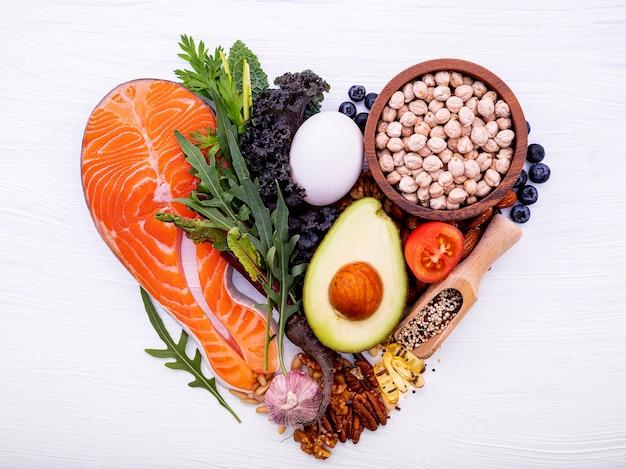 Ingrédients pour la sélection d'aliments sains