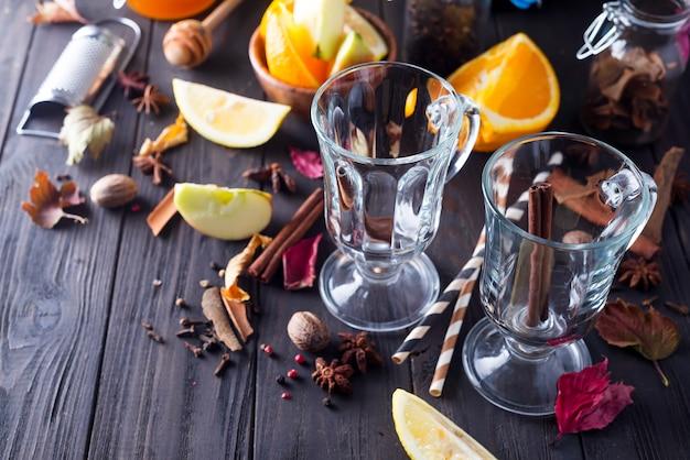 Ingrédients de la recette du vin chaud