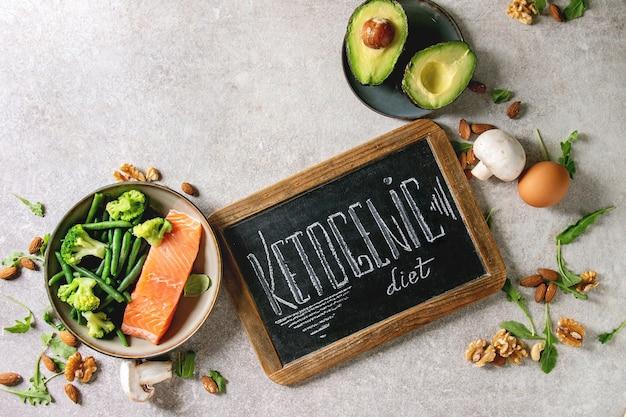 Ingrédients de régime cétogène