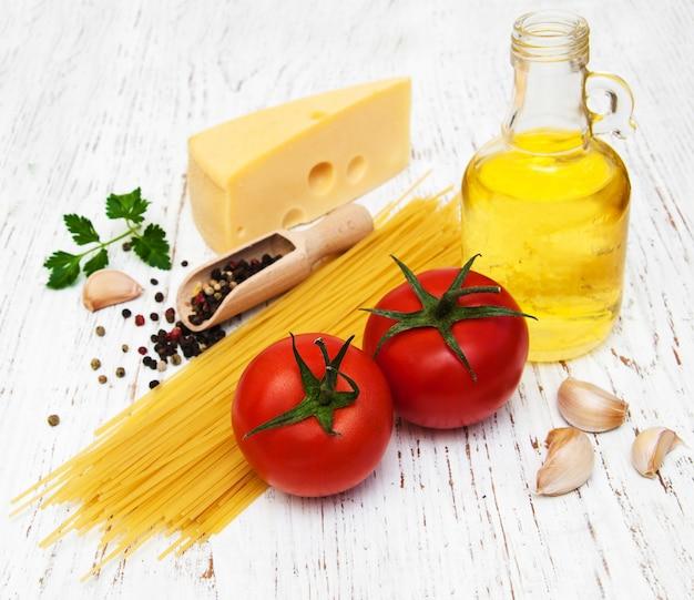 Ingrédients spagetti