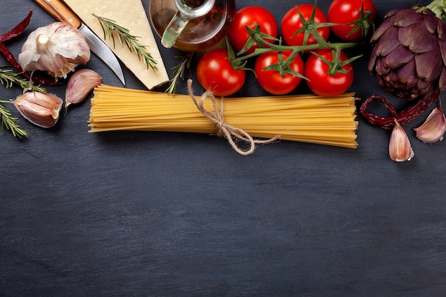 Ingrédients traditionnels de la cuisine italienne