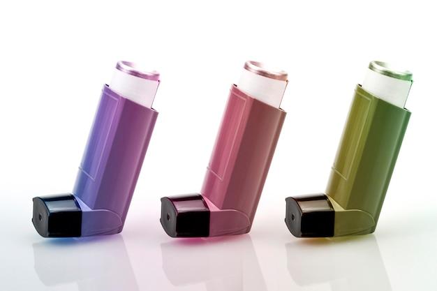 Inhalateur conçu pour les patients asthmatiques.