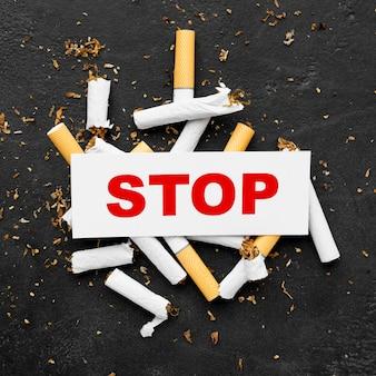 Initiative pour arrêter de fumer
