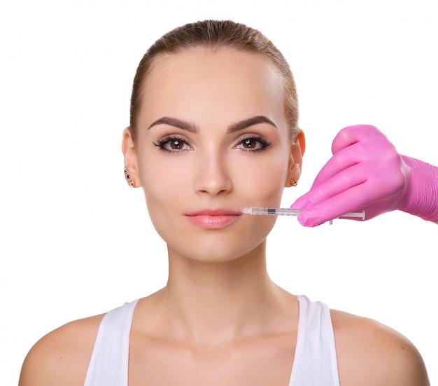 Injections faciales rajeunissantes