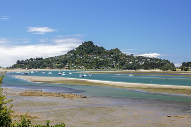 Inlet à tairua en nouvelle-zélande