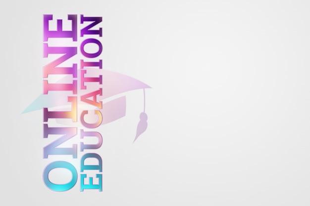 Inscription education en ligne sur une lumière