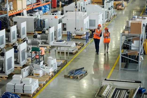 Inspection de la qualité à l'usine