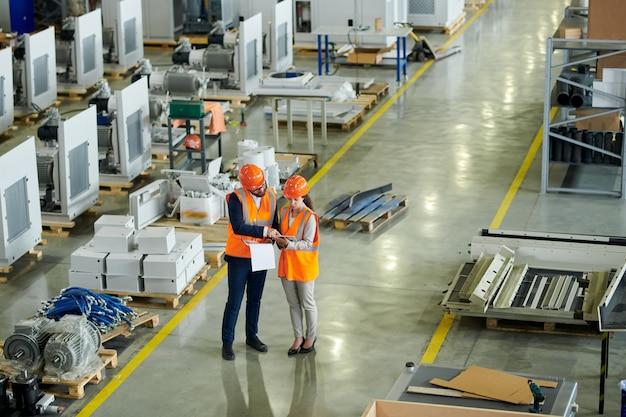 Inspection de sécurité à l'usine