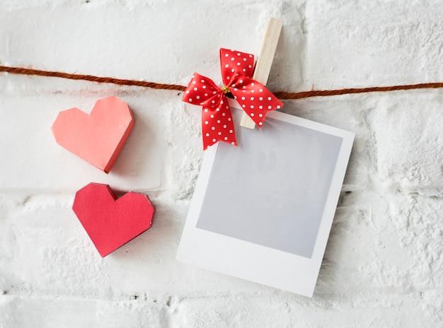 Instafilm photographie coeur décoration amour