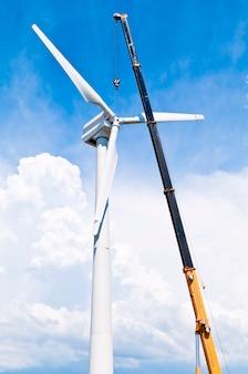 Installation d'éoliennes