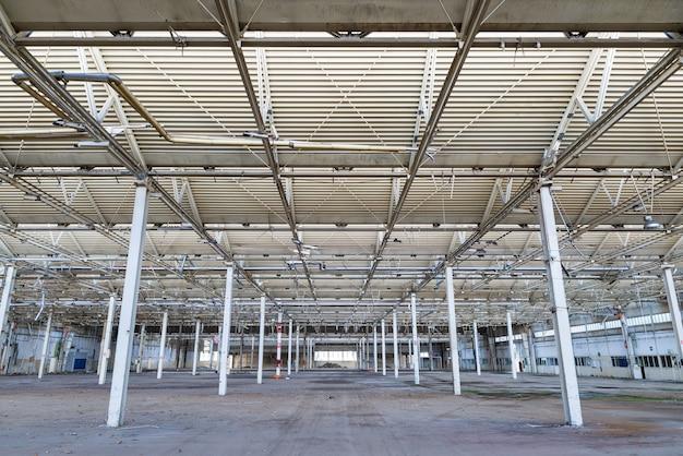 Installation industrielle abandonnée