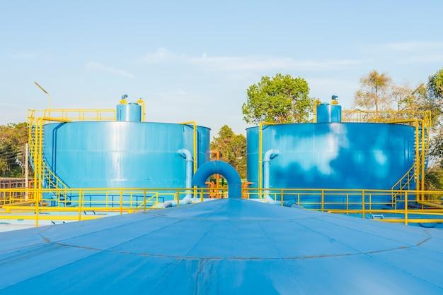 Installations de traitement de l'eau