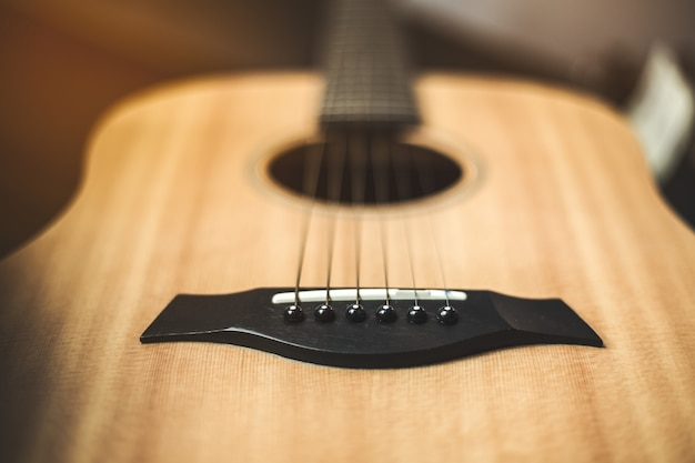Instrument de guitare acoustique